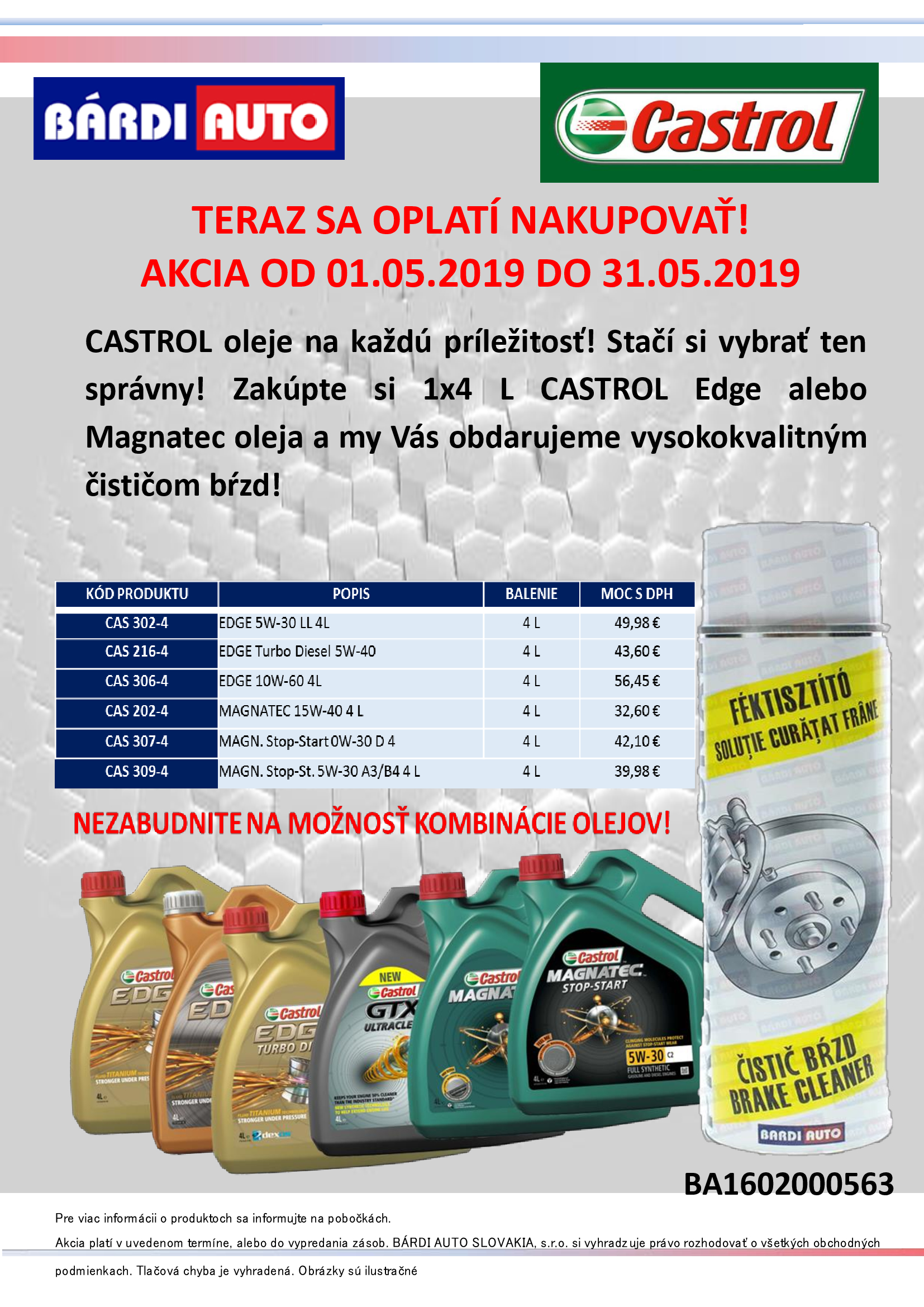 43c3ad805674 CASTROL oleje na každú príležitosť! Stačí si